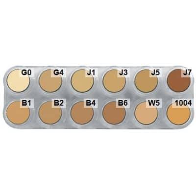 products-creme_v.jpg,Grimas Crème Make-up (Pure), 12er-Palette - V