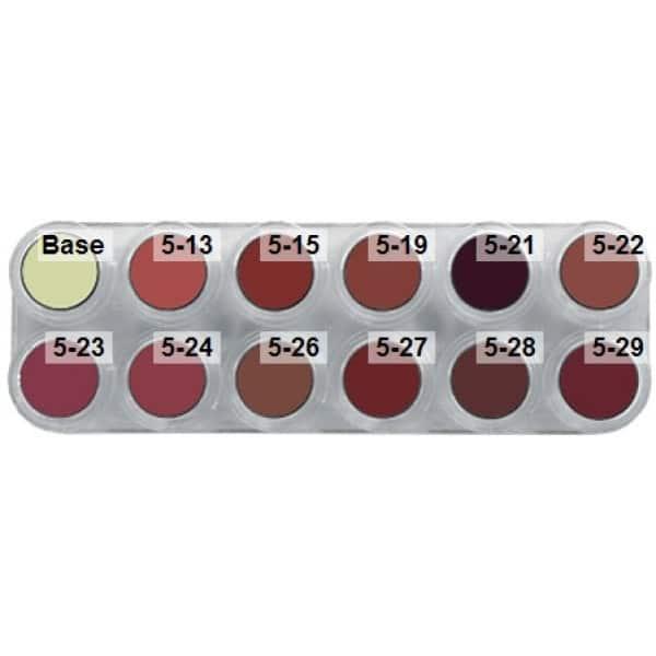 Grimas Lipstick (Pure), 12er-Palette - LB, products-lb.jpg