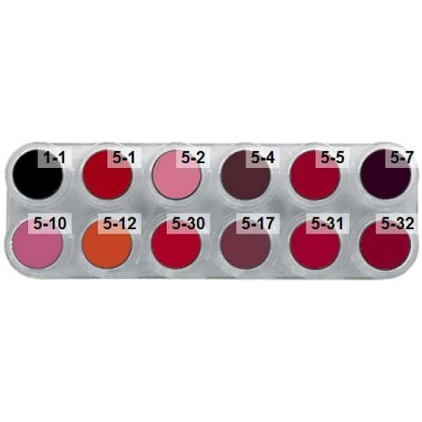 Grimas Lipstick (Pure), 12er-Palette - LF, products-lf.jpg