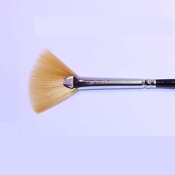 Mini-Fächer-Pinsel, goldf. Synthetik - 17,5 cm, Nr.29.jpg