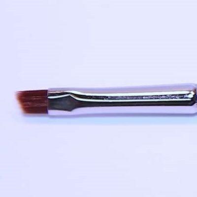 Eyelinerpinsel, schräg, mahagonyfarbenes Synthetik - 17 cm, Nr.44.jpg