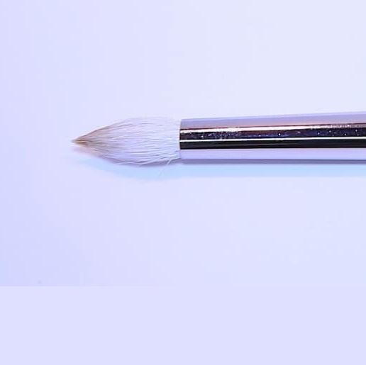 Blenderpinsel, rund-zulaufend, weißes Ziegenhaar - 20 cm, Nr.50.jpg