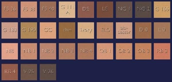Kryolan Aquacolor Palette - Refill 4ml