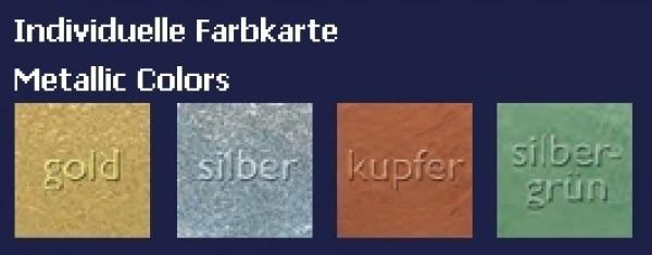 Kryolan Supracolor Palette - Refill 4ml Metallic-Farben