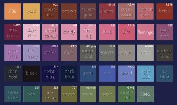 Kryolan Eye Shadow Paletten - Refill