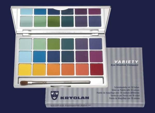 194_0.jpg, Kryolan Variety - Eye Shadow Compact Palette