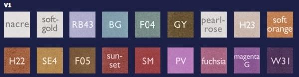 Kryolan Variety - Eye Shadow Compact Palette