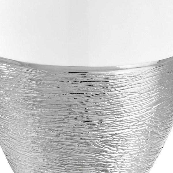 Lampe Berger - Duftlampe - Effet d'Argent Blanche