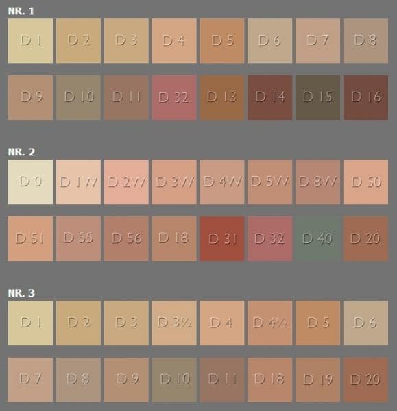 Dermacolor 16er-Mini-Paletten