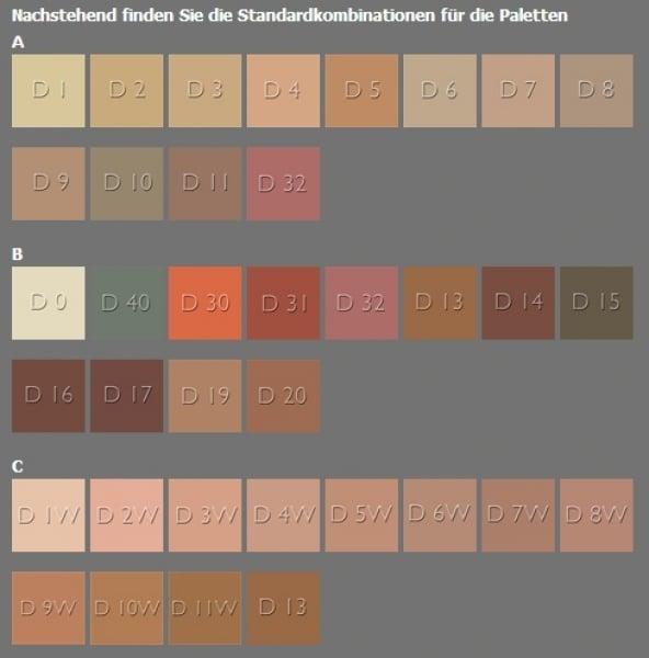 Dermacolor Camouflage Creme 12er-Palette