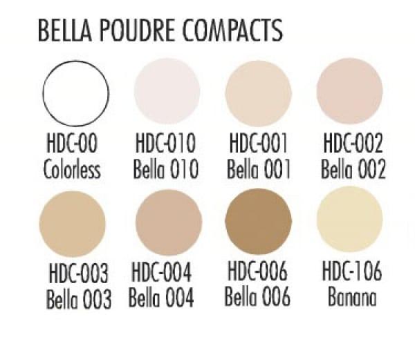 Ben Nye Bella Poudre 8er-Palette