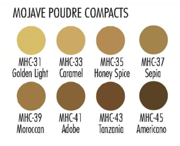 Ben Nye Mojave Poudre 8er-Palette