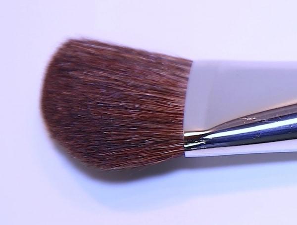 Modellierpinsel, schräg, softes Ziegenhaar - 20cm