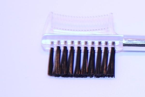 Wimpernbürste mit Kamm - 18 cm