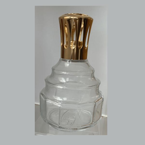 Ondiene-Transparent-Gold.png, Lampe Berger Duftlampe Transparent Gold